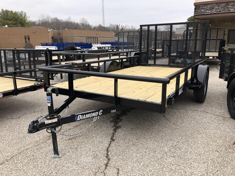 2020 12x77 Diamond C GSA135 Utility Trailer. 26178
