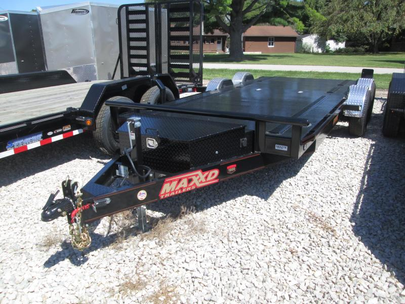 "2019 80""x20' 10k MaxxD Drop-N-Load Car Trailer. 65278"