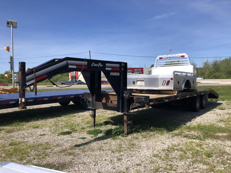 2010 22'+5' CornPro Gooseneck Equipment Trailer. 51857