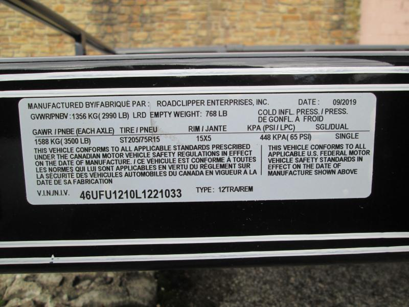 2020 12x77 Diamond C Utility Trailer. 21033