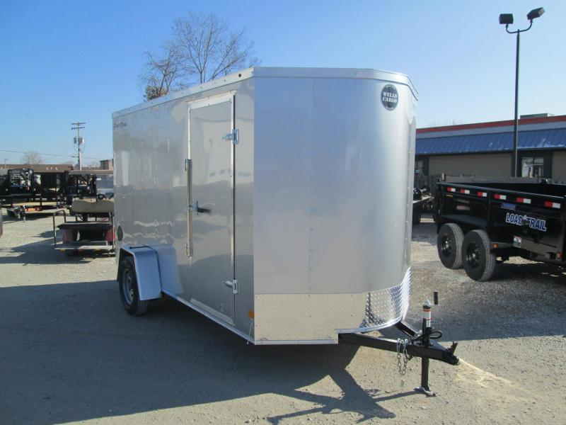 "2020 6'x12' Wells Cargo Fast Trac Enclosed with 6"" Extra Height and ramp door. 00347"