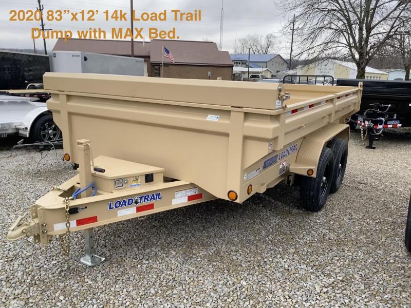 2020 83x12 14K Load Trail Dump Trailer. 99009
