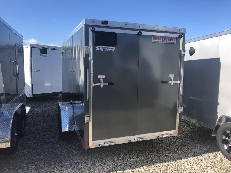 2020 6x12 Discovery Enclosed Cargo Trailer. 04578