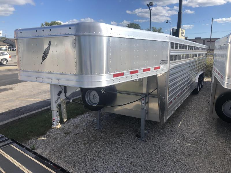 2019 Featherlite 8127-8032 Livestock Trailer. 151987