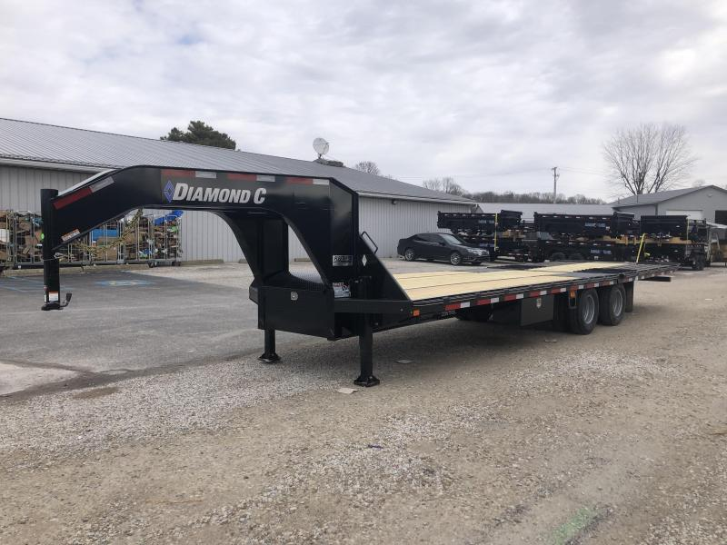 2019 FMAX 212 30' Hydro Dove 25.9K DIAMOND C Engineered Beam Trailer