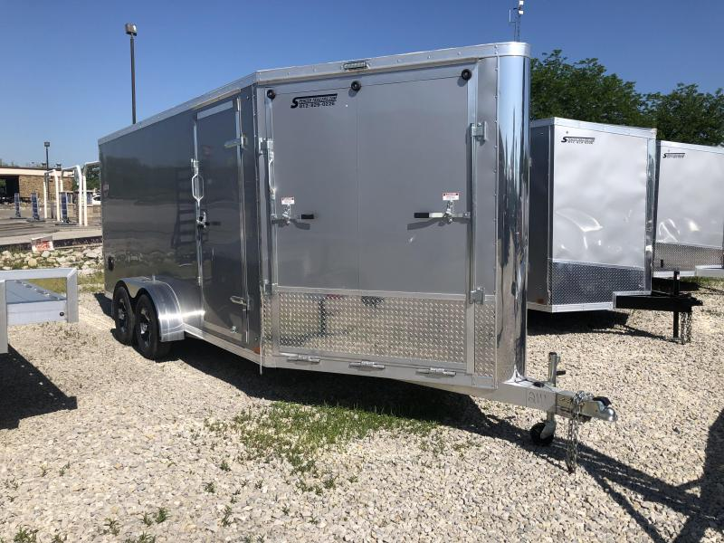 Great Deal! 2019 7'x21' Discovery Enclosed Cargo Trailer. 2111
