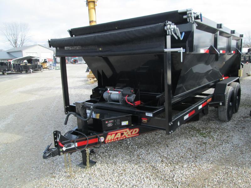 "2020 MAXXD 14'x83"" 14K Roll Off Dump Trailer. 69129"