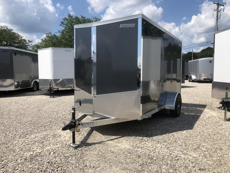 2020 Legend Explorer 6x12 Plus V-nose Aluminum Enclosed Cargo Trailer. 17819