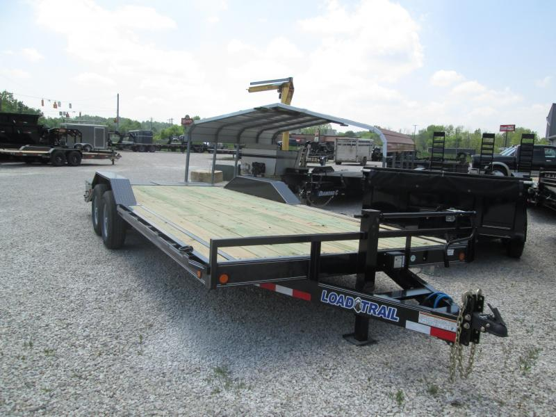 "2019 22'x102"" 14K Load Trail Equipment Trailer. 90467"