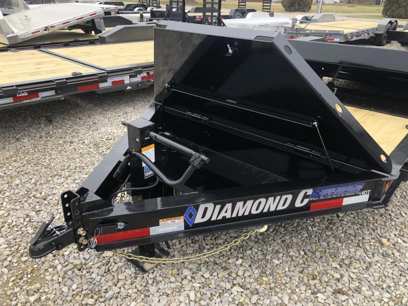 2020 20x82 14.9K Diamond C Equipment Trailer. 23000