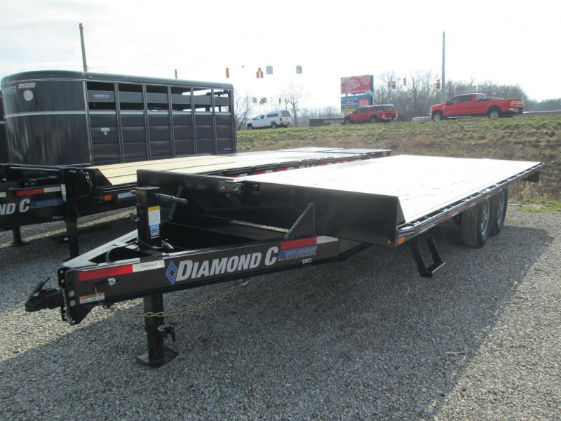 2020 Diamond C Trailers DEC207 Equipment Trailer
