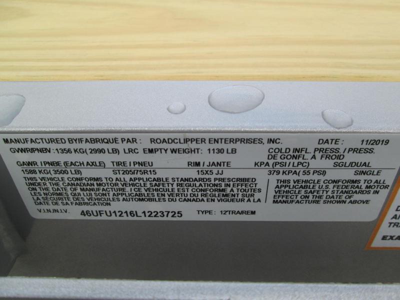 2020 12x77 Diamond C UVT Utility Trailer. 23725
