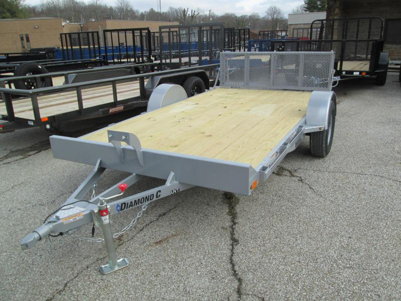 2020 12x77 Diamond C UVT Utility Trailer. 23725