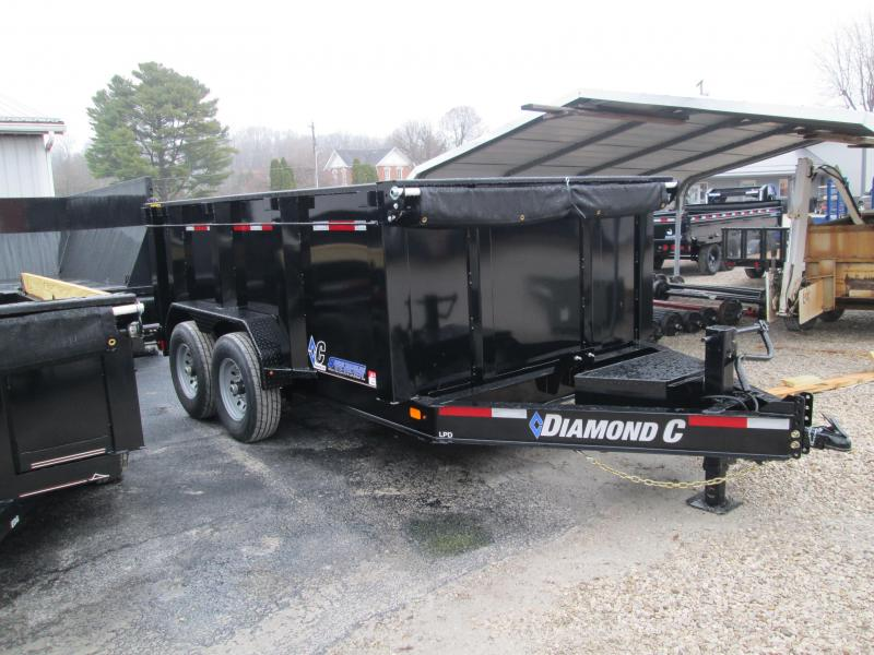 2020 12x82 14.9K Diamond C LPD207 Dump Trailer. 21197