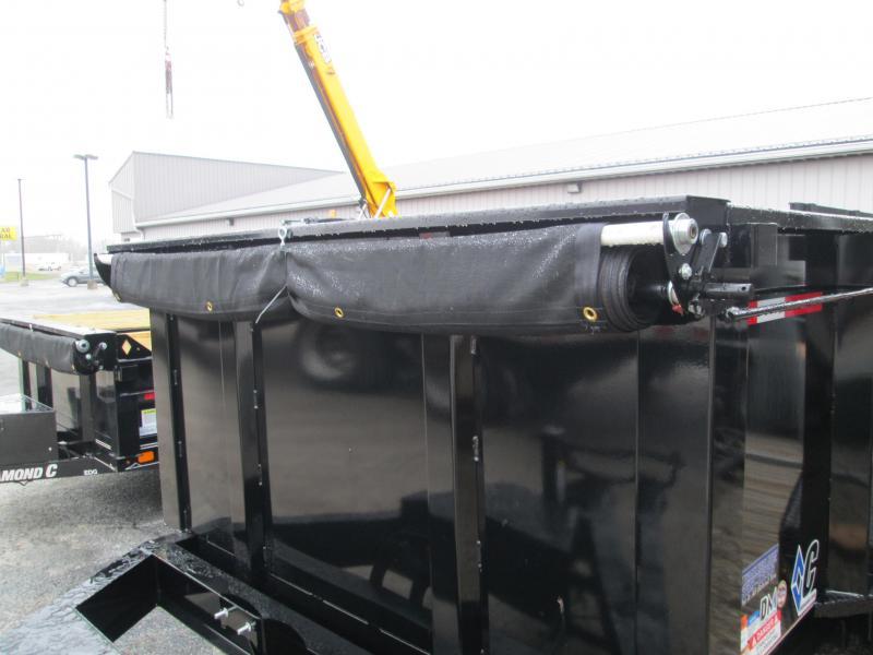 2020 12x82 14.9K Diamond C LPD207 Dump Trailer. 21197