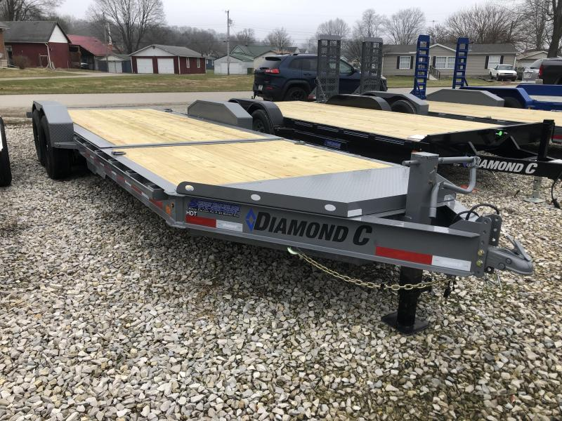 "2020 22'x82"" 14.9K Diamond C HDT207 Equipment Trailer. 22927"
