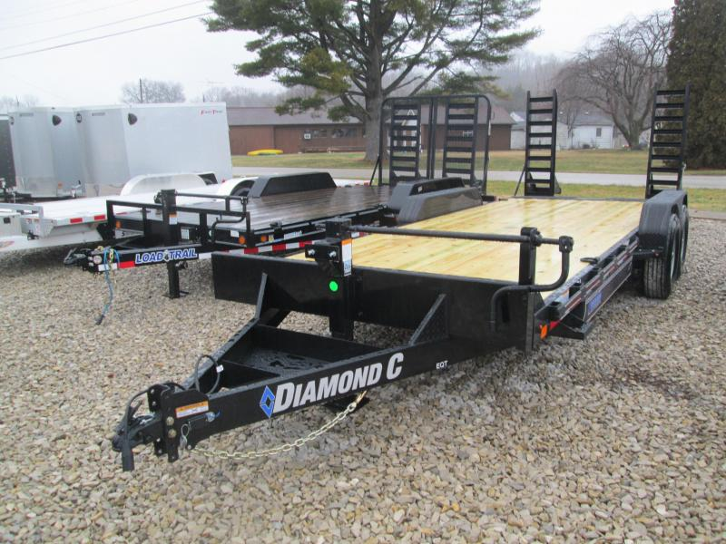 2020 22x82 14K Diamond C EQT207 Equipment Trailer. 24540