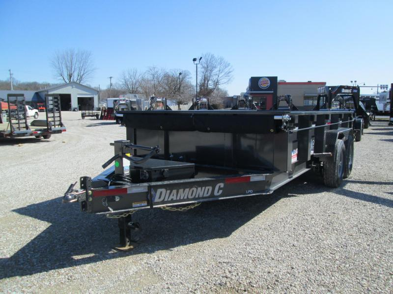 2020 14x82 14.9K Diamond C LPD207 Dump Trailer. 25337