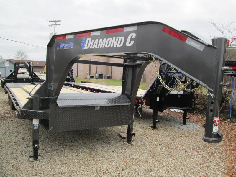 DIAMOND C 2020 FMAX 207 MR 20'+5'  15.5K Engineered Beam Trailer