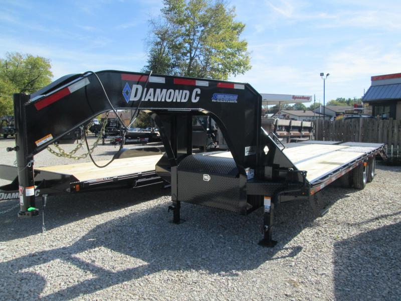 2020 FMAX 212MR 25' 25.9K Diamond C Engineered Beam Equipment Trailer. 20961