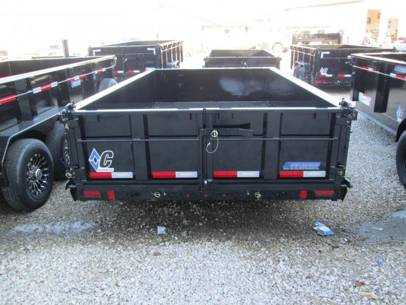 2019 12x82 14.9K Diamond C Dump Trailer. 21848