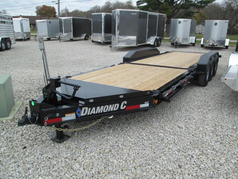 2020 Diamond C Trailers HDT307 Equipment Trailer