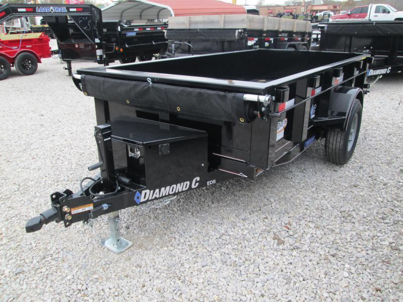 2020 10x60 5K Diamond C Dump Trailer. 21013