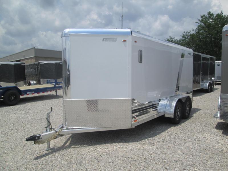 2020 LEGEND DVN 7x14 Plus V-nose Aluminum Enclosed Cargo Trailer