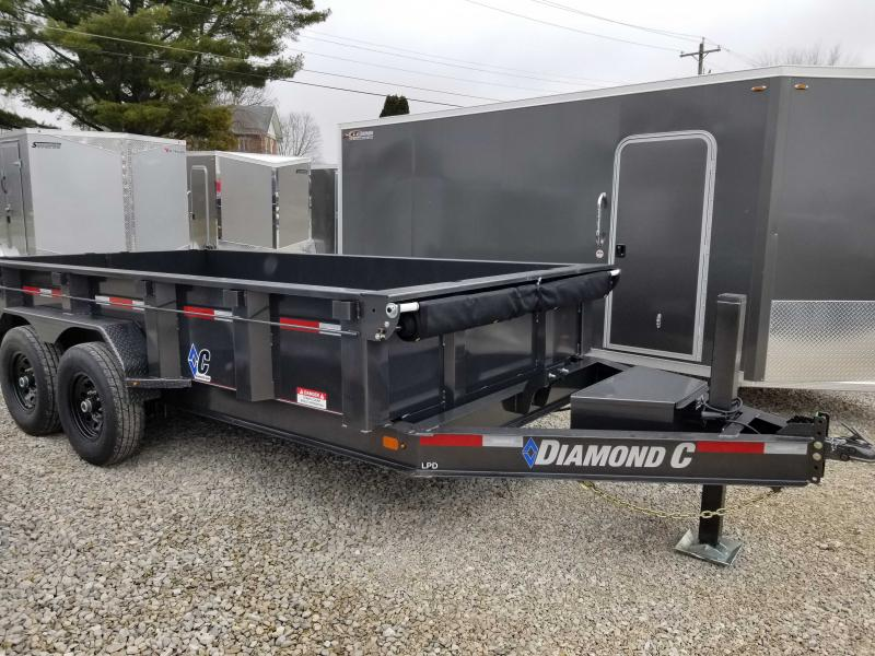 2020 Diamond C Trailers LPD207 Dump Trailer