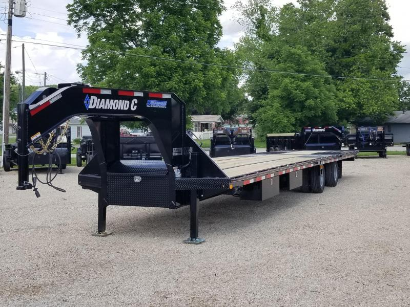 "2019 FMAX 212HDT 40'x102"" 25.9K Diamond C Engineered Beam Equipment Trailer. 14315"