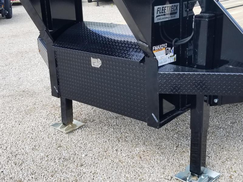 """2019 FMAX 212HDT 40'x102"""" 25.9K Diamond C Engineered Beam Equipment Trailer. 14315"""