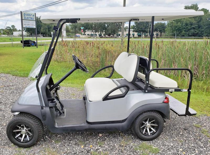 2019 Club Car Reconditioned 4 Passenger Precedent - Silver