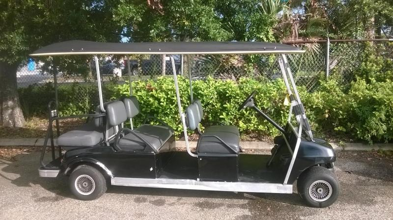 1996 Club Car Villager 6 passenger Golf Cart