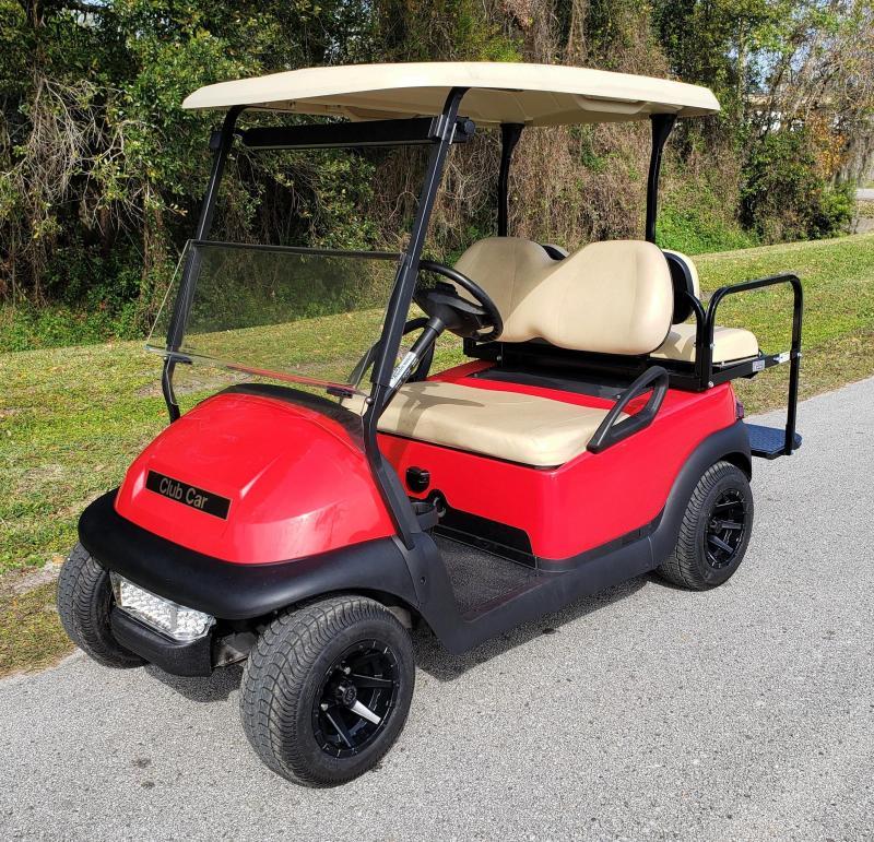 Reconditioned Club Car Precedent 4 Passenger Golf Cart