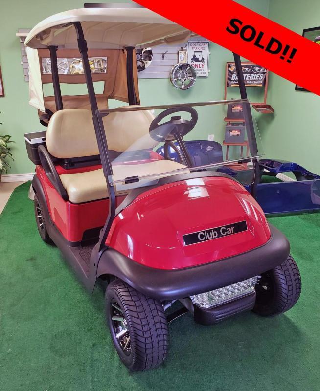 2015 Club Car Refurbished Precedent Golf Cart