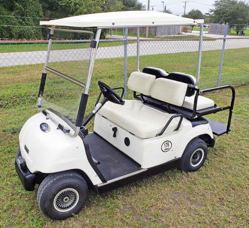 1998 Yamaha G16 Golf Cart - 4 Passenger