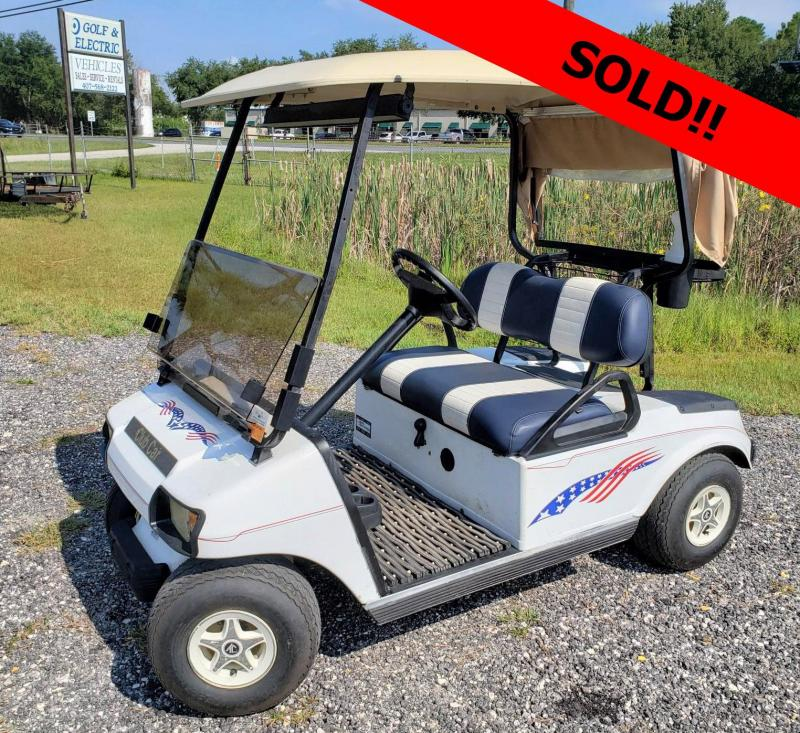 2001 Club Car DS Golf Car - Very Fast!