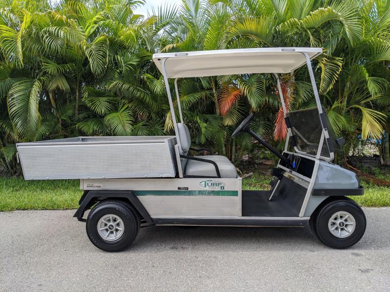 1998 Club Car TURF 2 GAS UTILITY Golf Cart