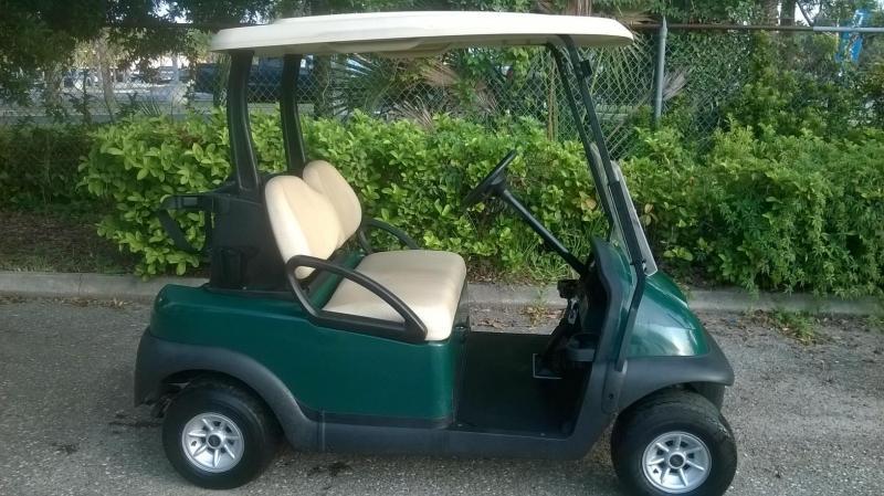 2015 Precedent Golf Cart