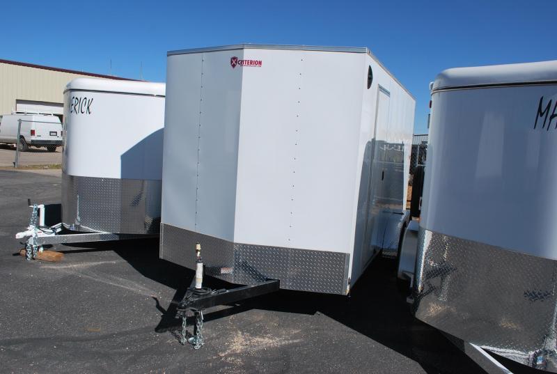 2020 Criterion 7X16 Enclosed Cargo Trailer