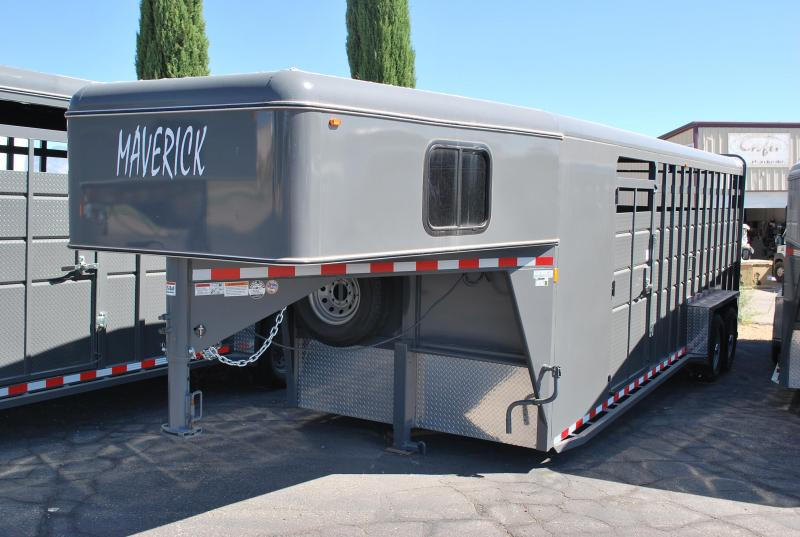 2019 Maverick GN 24' Stock/Combo Horse Trailer