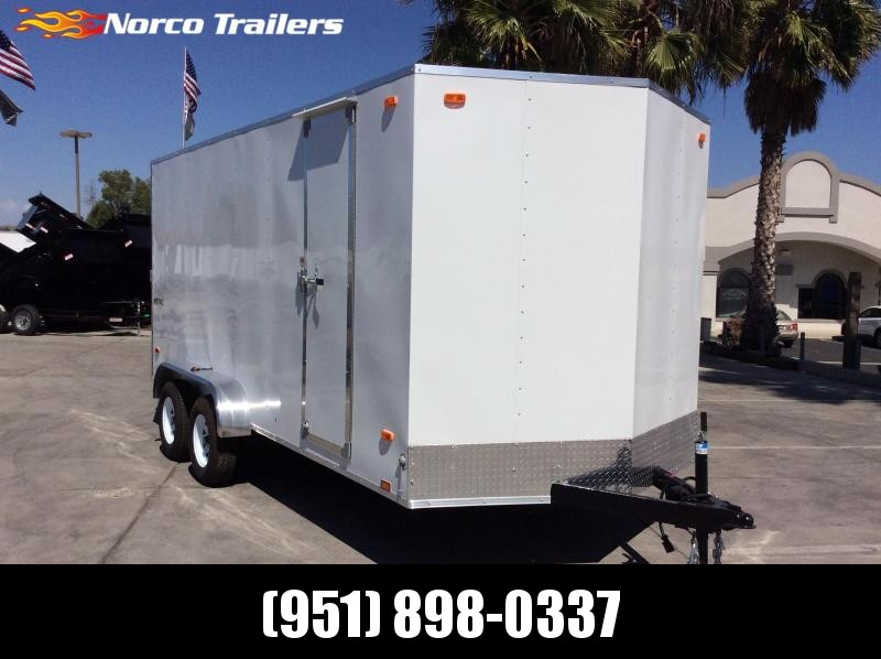 2021 Pace American Metro 7' x 16' Enclosed Cargo Trailer