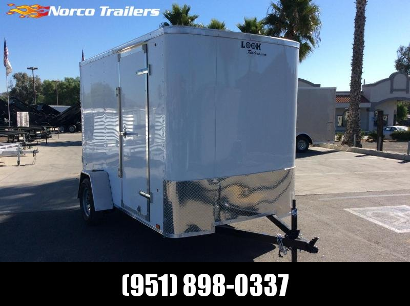 2020 Look Trailers STLC 6 x 10 Single Axle Enclosed Cargo Trailer
