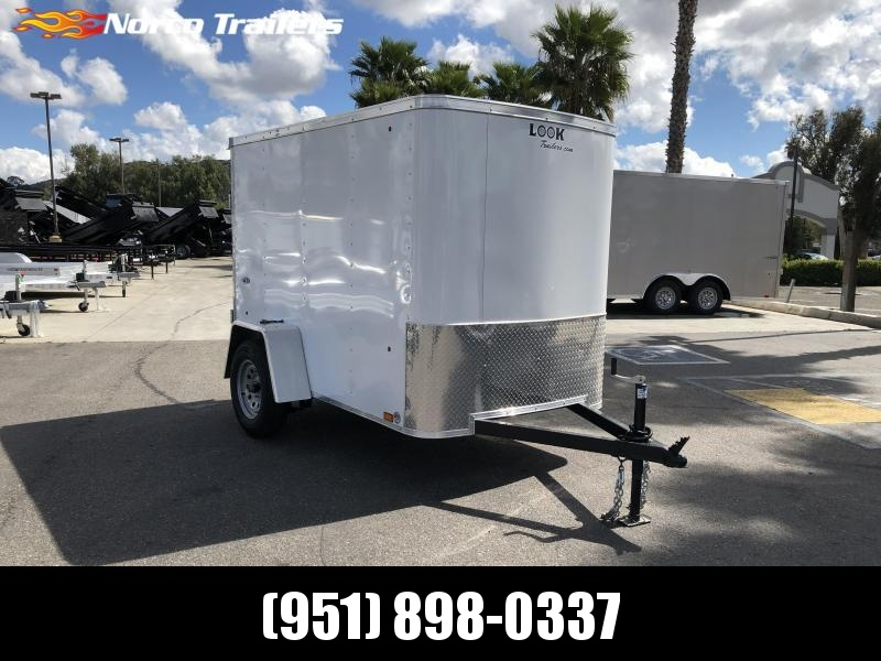 2021 Look Trailers STLC 5 x 8 Single Axle Enclosed Cargo Trailer