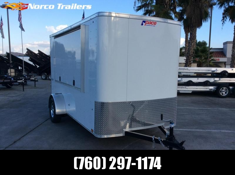 2020 Pace American Outback 6' x 12' Single Axle Enclosed Cargo Trailer