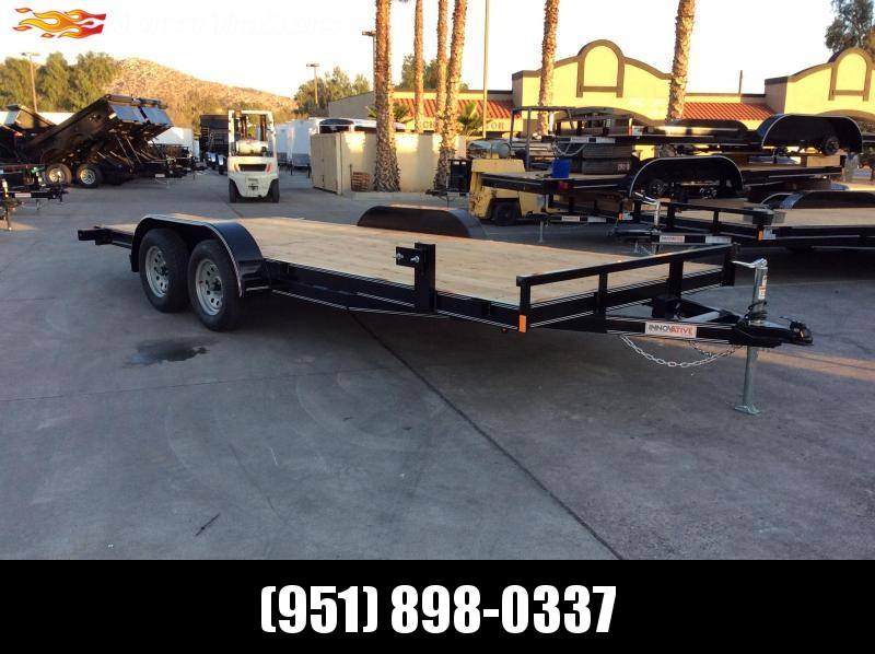 2018 Featherlite 3182 8 5 X 22 Flatbed Car Racing Trailer Over