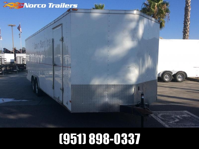2014 Haulmark Passport 8.5' x 24' Tandem Axle Car / Racing Trailer
