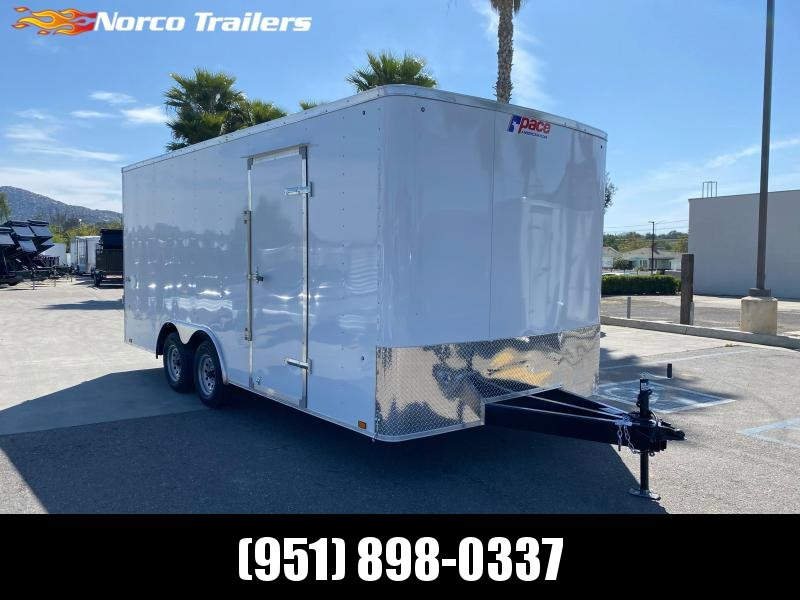 2021 Pace American Outback 8.5' x 18' Tandem Axle Car / Racing Trailer