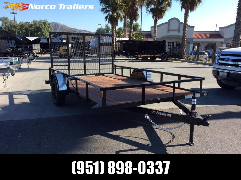 "2020 Playcraft 82"" X 12' Single Axle Utility Trailer"