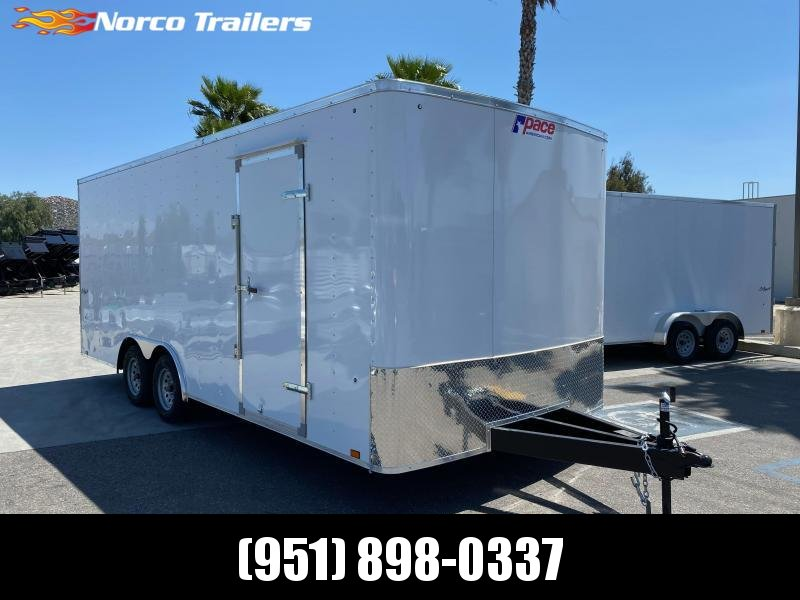 2021 Pace American Outback 8.5' x 20' Tandem Axle Car / Racing Trailer